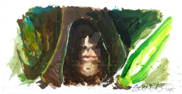 Luke Skywalker Speed Painting by hoganvibe