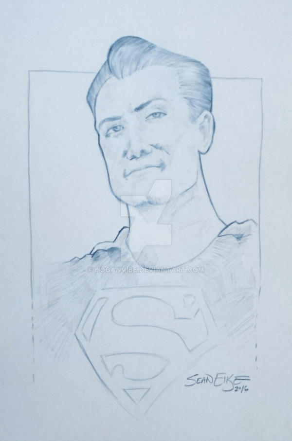 George Reeves Superman by hoganvibe