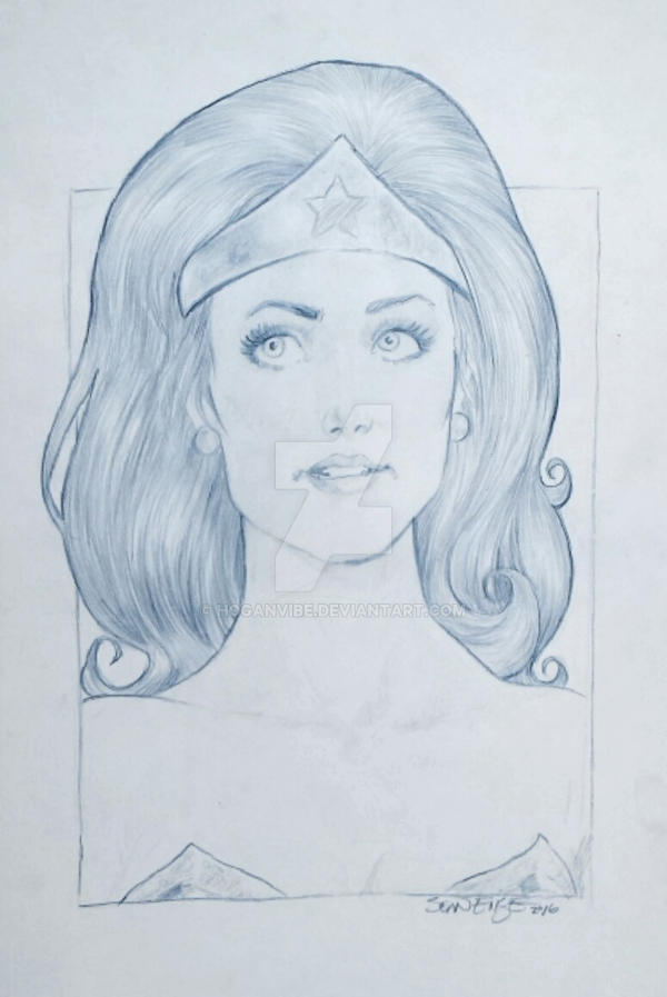 Lynda Carter Wonder Woman by hoganvibe