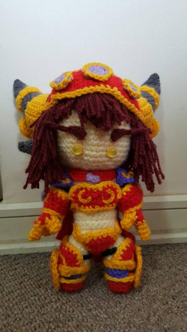 World Of Amigurumi : Alexstrasza amigurumi World of Warcraft crochet by ...