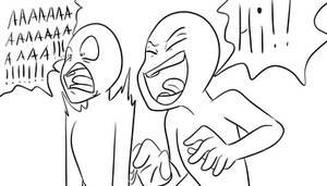 Draw the squad - scare by Princess-vaeGa