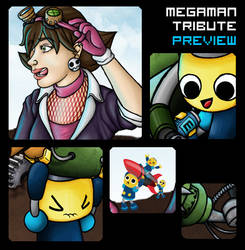 Megaman Tribute Entry 1