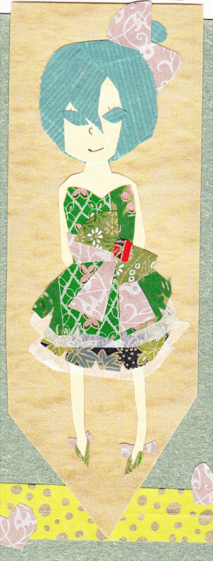 Scrapbook Miku by Pigeonheart