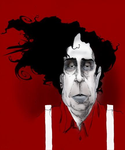 Portrait of Tim Burton