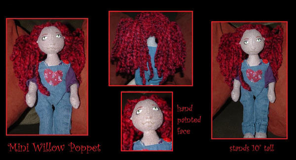 Mini Poppet-Willow from BtVS by moonlit0wolfess