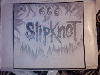 Drawing SlipKnoT T.H.A by fastdesign
