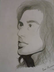 Drawing Dave Mustaine by fastdesign
