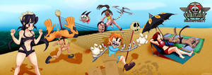 Skullgirls Beach Party!