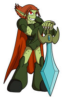 TOME: Nylocke by Kirbopher15
