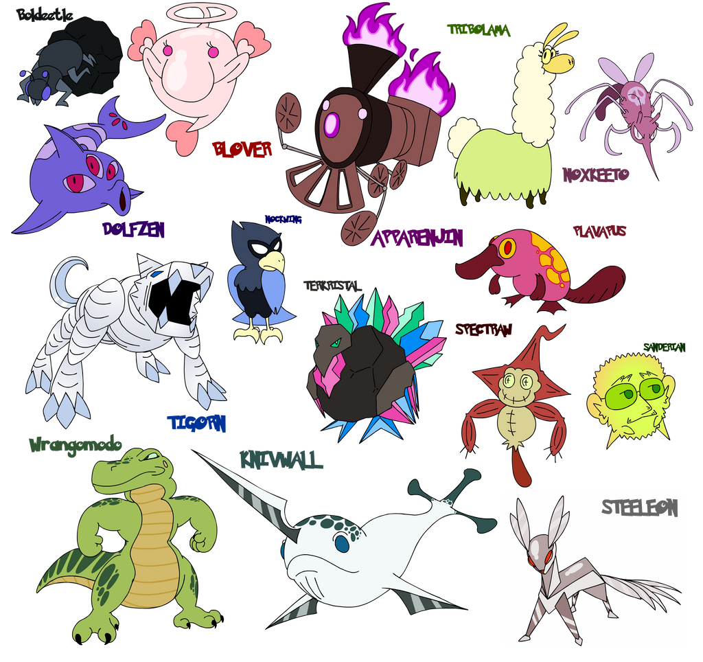 Pokemon 7 Generation