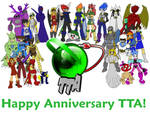 TTA's First Year Anniversary