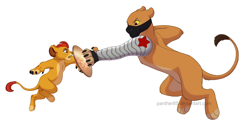 captain_kion_vs_the_winter_lioness_by_panther85-d80i0kw.jpg