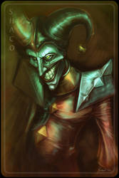 Shaco. The Demon Jester. by jsuursoo