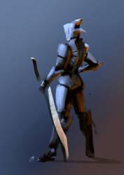 Light Knight Robot