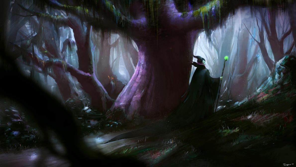 Maleficent fan art by jsuursoo