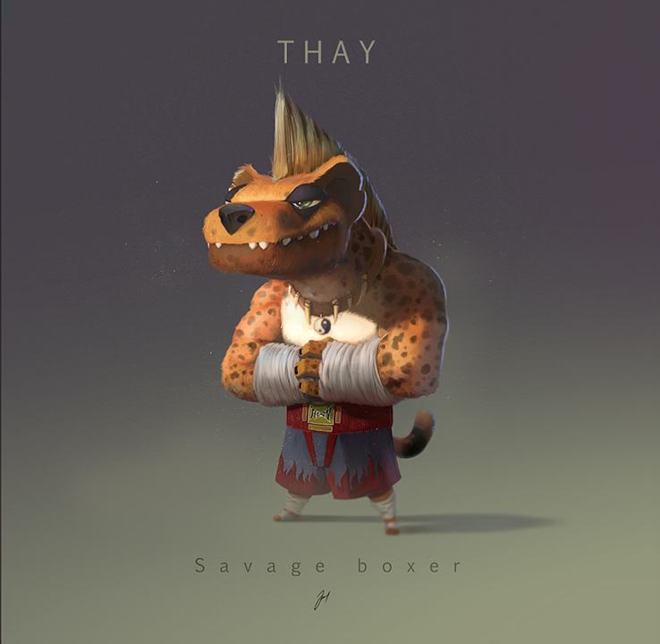 Savage Boxer by jsuursoo
