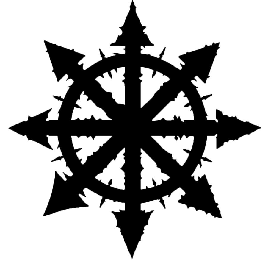 chaos symbol by mattl3 on deviantart