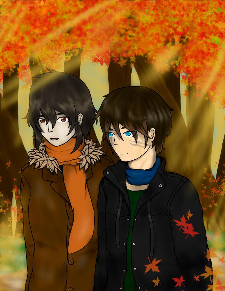 Midnora- Autumn Walk by Kaniai