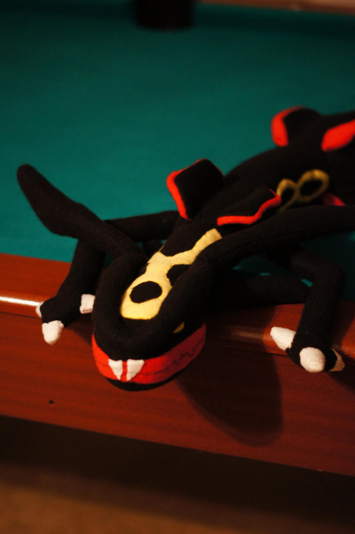 Shiny Rayquaza Plush Profile by Rammgirl30