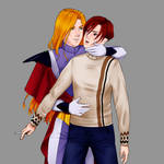 Raoul x Katze (no background) by Sopheirion