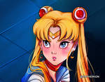 sailor moon redraw by Sopheirion