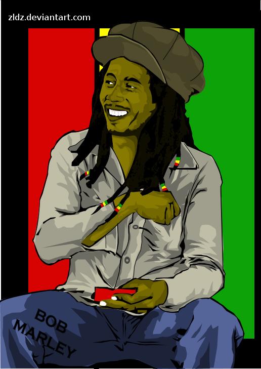 - Bob Marley - by zldz