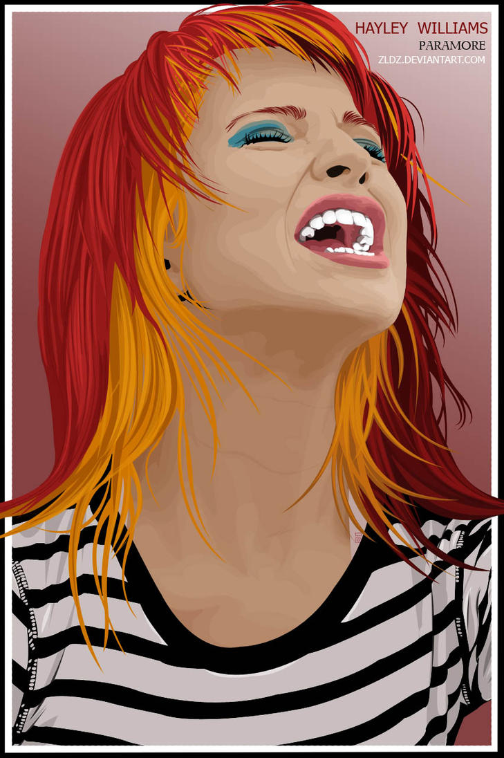 Hayley Williams by zldz