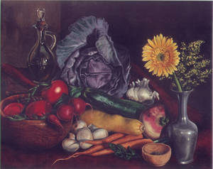 Vegetable still life 01