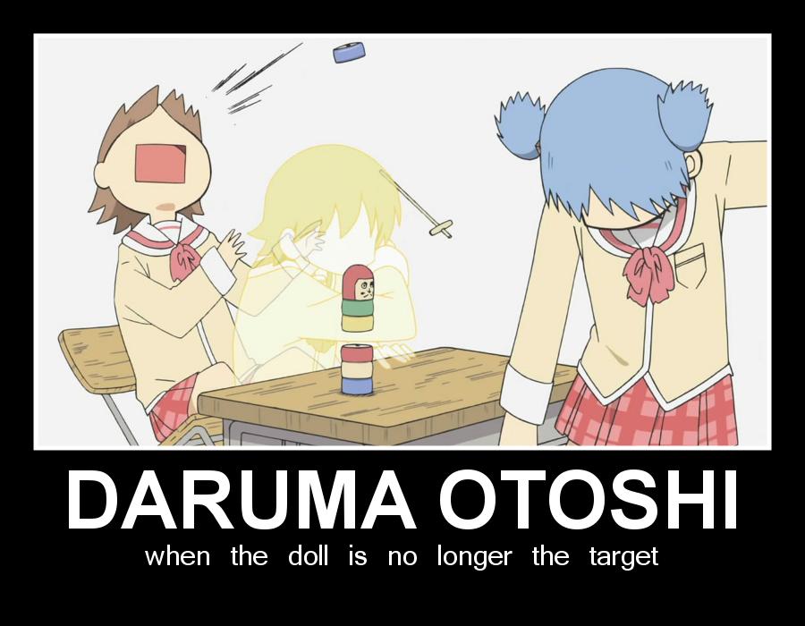 DARUMA OTOSHI by chaotrix