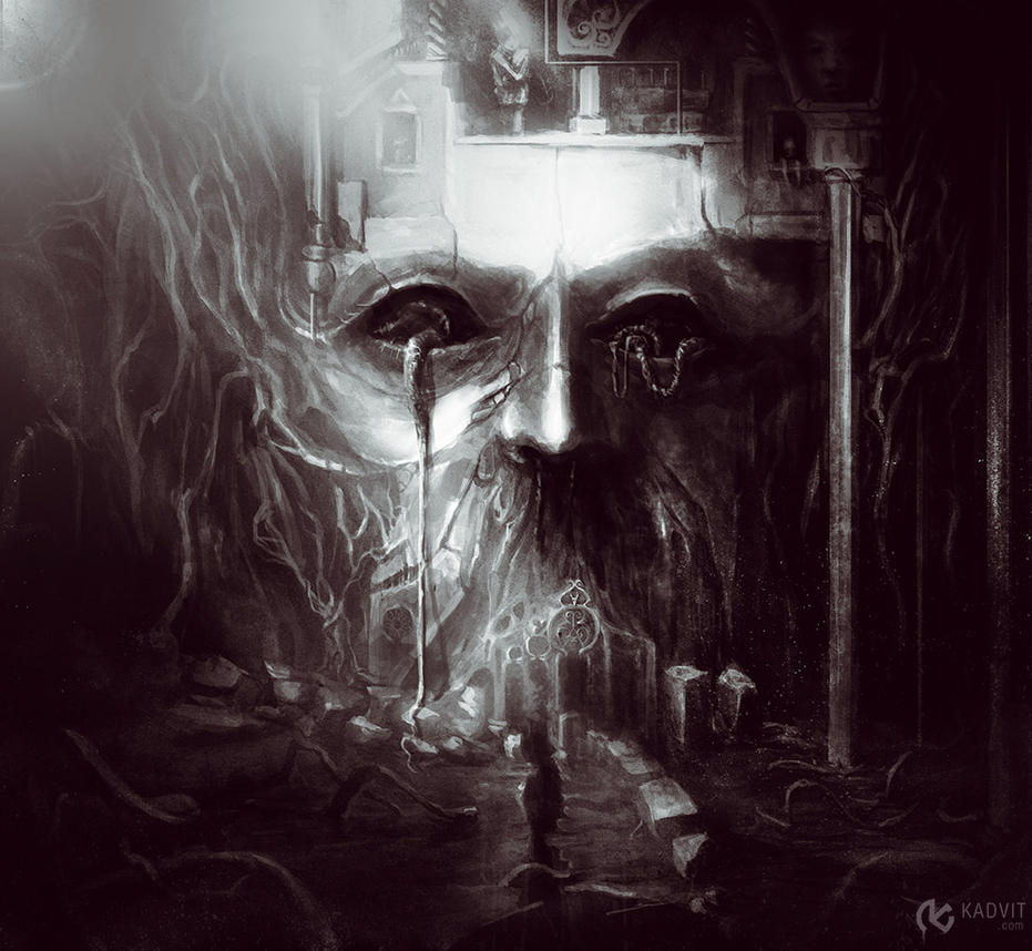 Dark  Place by Kadvit