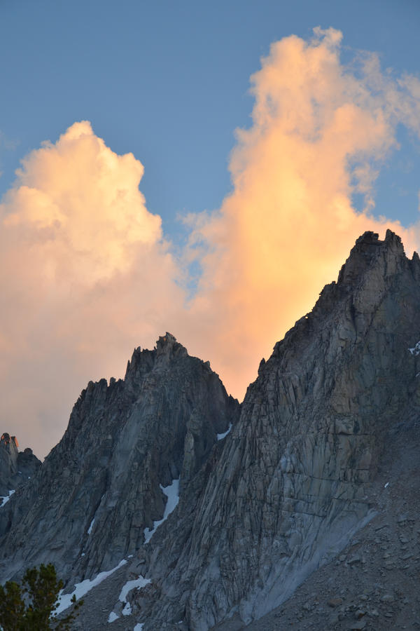 Clouded Peaks by BuuckPhotography