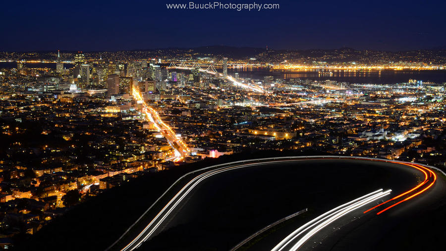 Driving Twin Peaks by BuuckPhotography