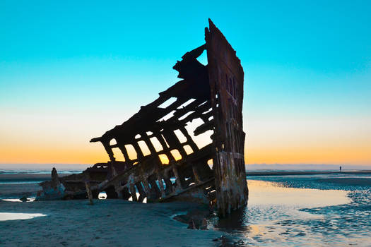 Enchanting Limbo - Peter Iredale Shipwreck
