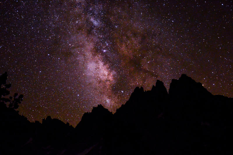 Milky Way Mountains by BuuckPhotography