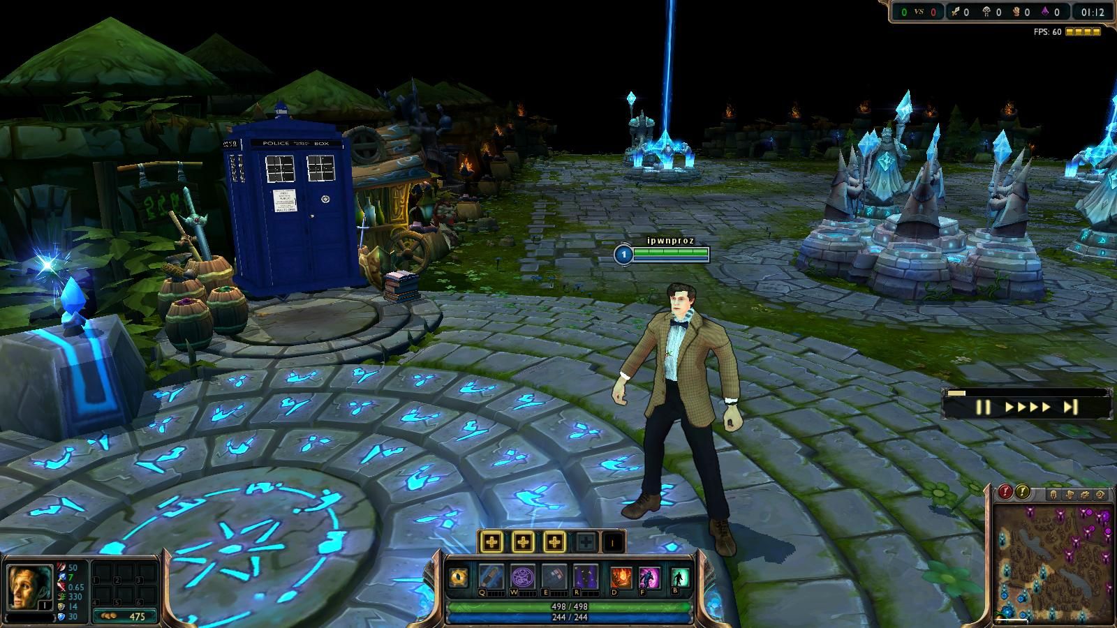 Doctor Who Eleventh Doctor Skin for LoL by carlozs on DeviantArt
