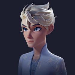 Boy Elsa