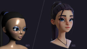 First 3D Character Remake