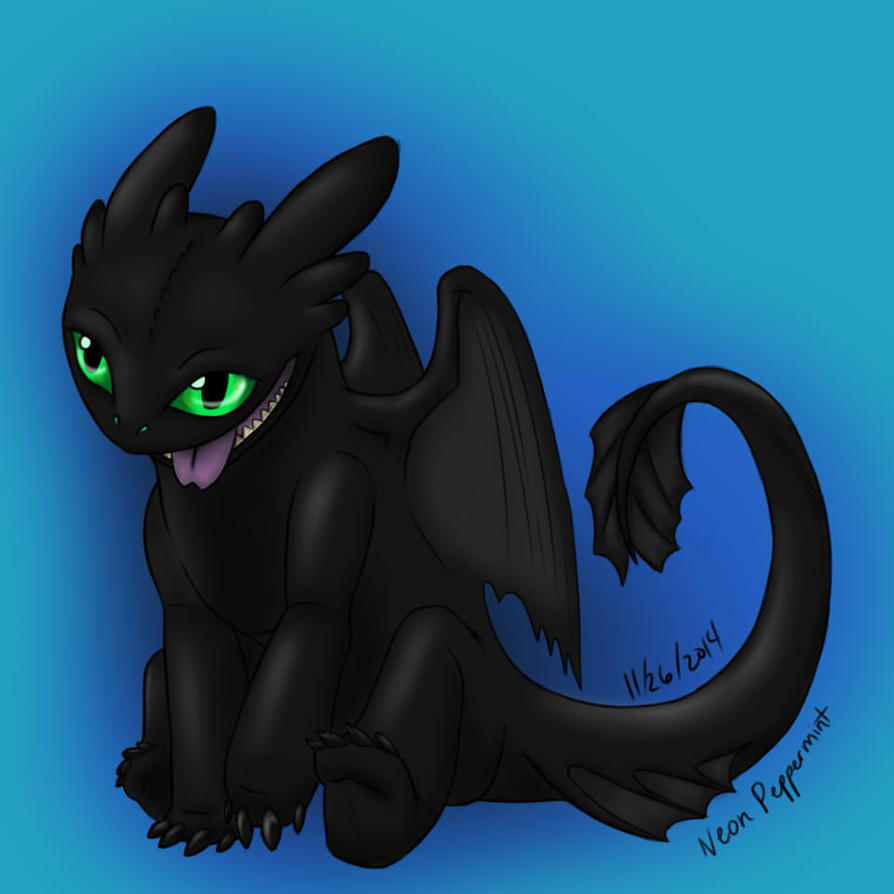 Toothless is Really a Dog by Myrad