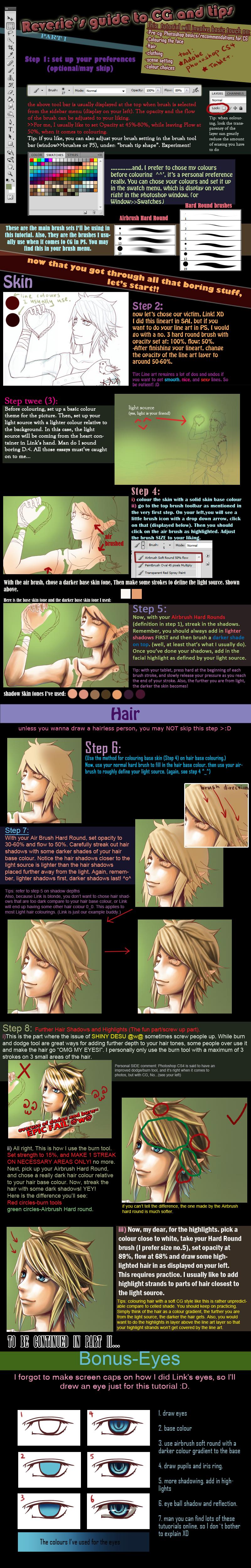 CG tutorial I by Cindiq