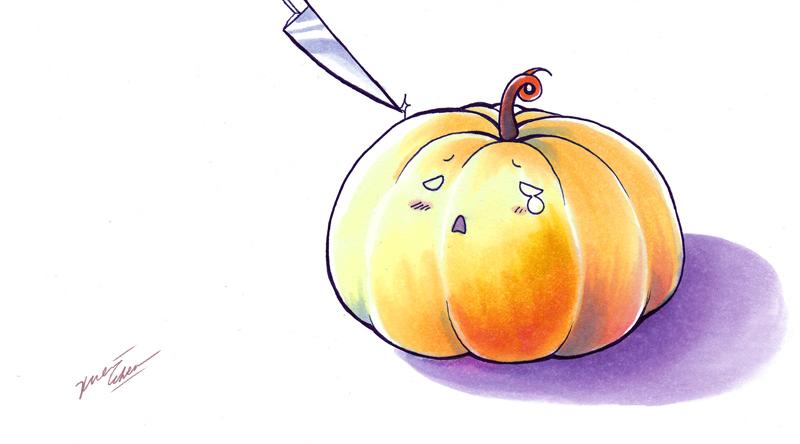 Life of a pumpkin by Cindiq