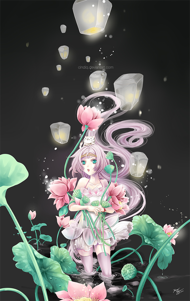 Lotus Harvest by Cindiq