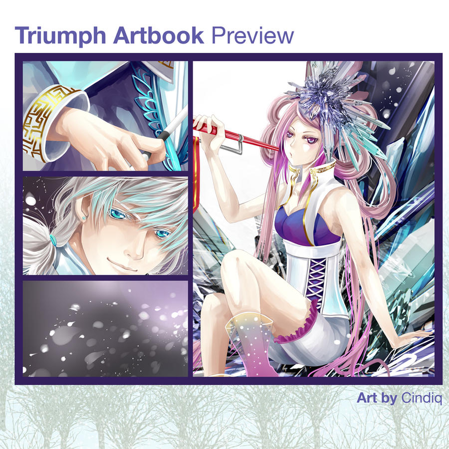 Triumph Artbook: Winter Spirits by Cindiq
