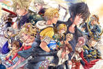 All the Final Fantasies