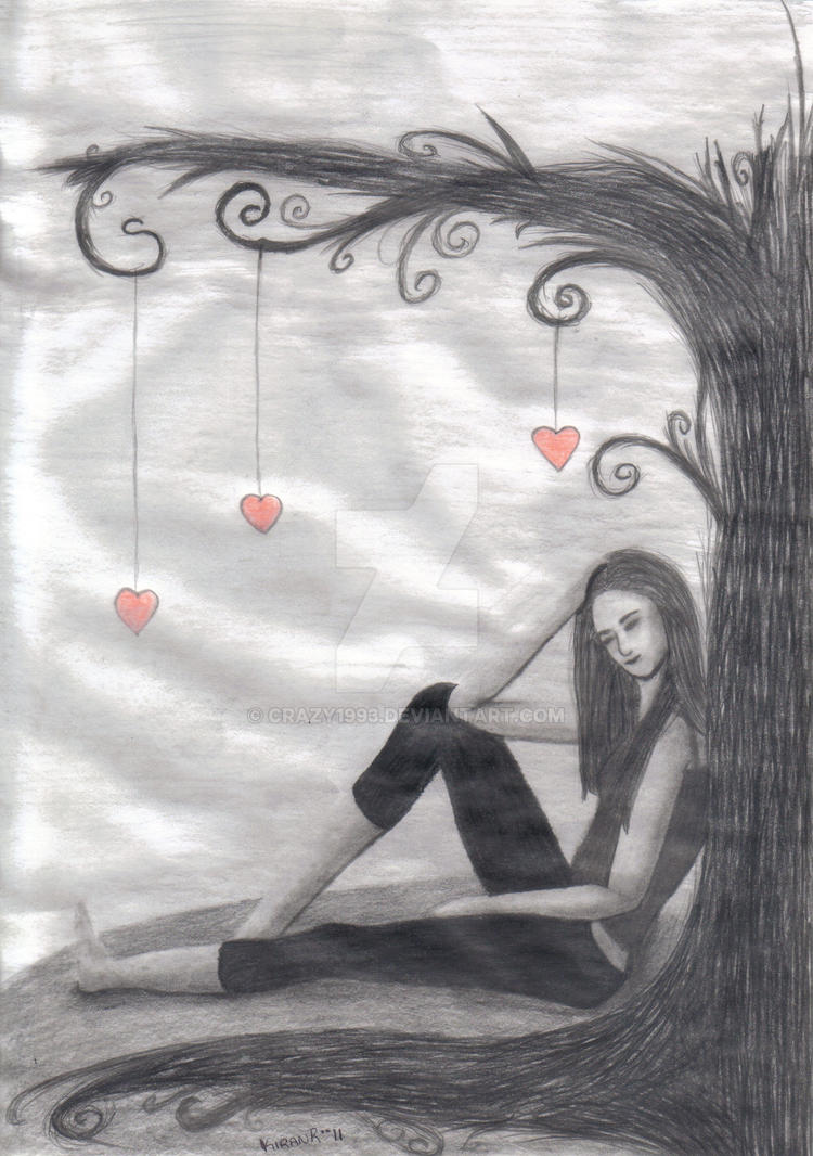 Lonely, Sad Girl by crazy1993 on DeviantArt