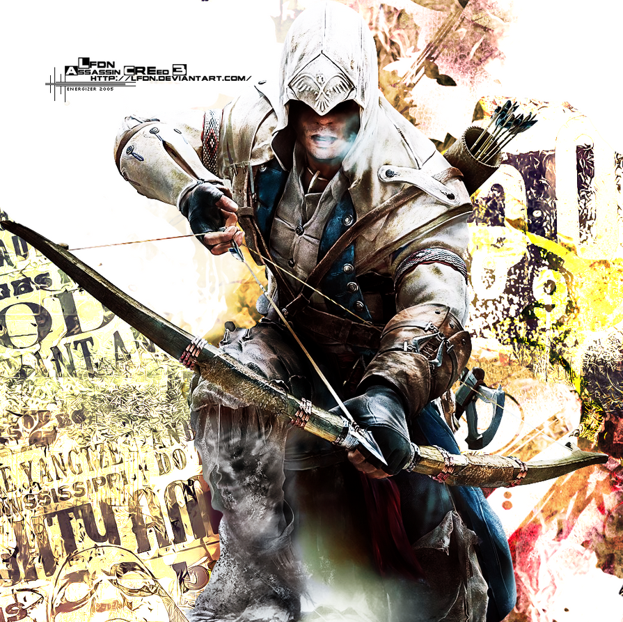 Assassin Creed III - Connor Kenway by LFDN