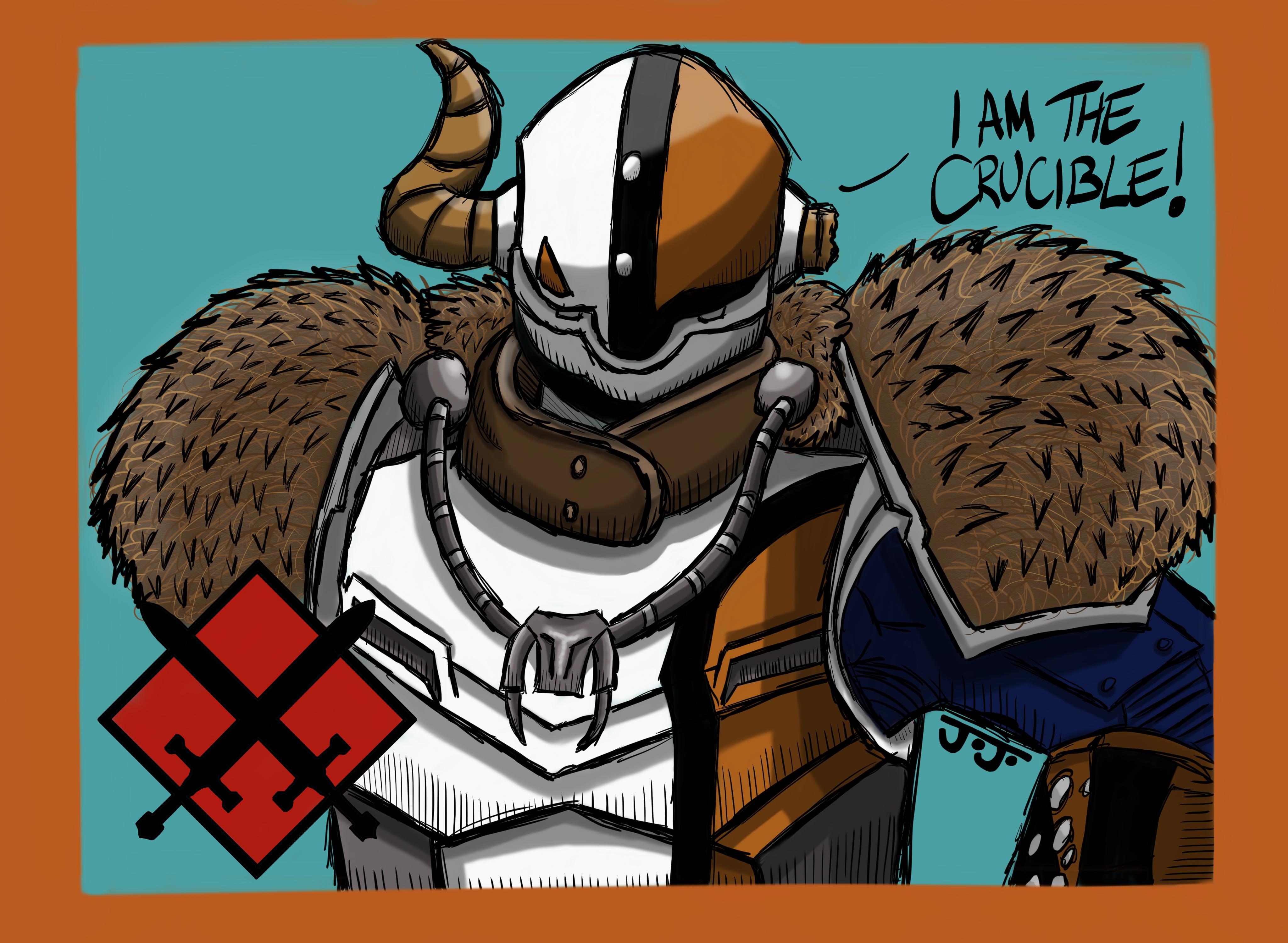 I am the crucible!