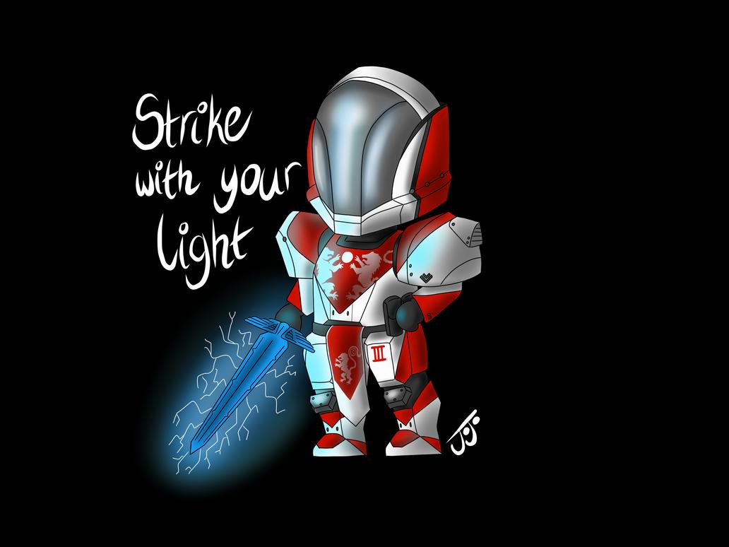 Strike with your Light by JoJoMcGiggity