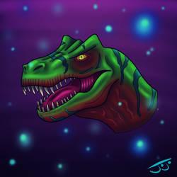 Allosaurus by JoJoMcGiggity