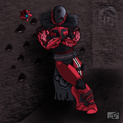 CrimsonTitan by JoJoMcGiggity