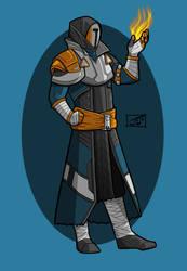 Barkhan Dune Warlock by JoJoMcGiggity